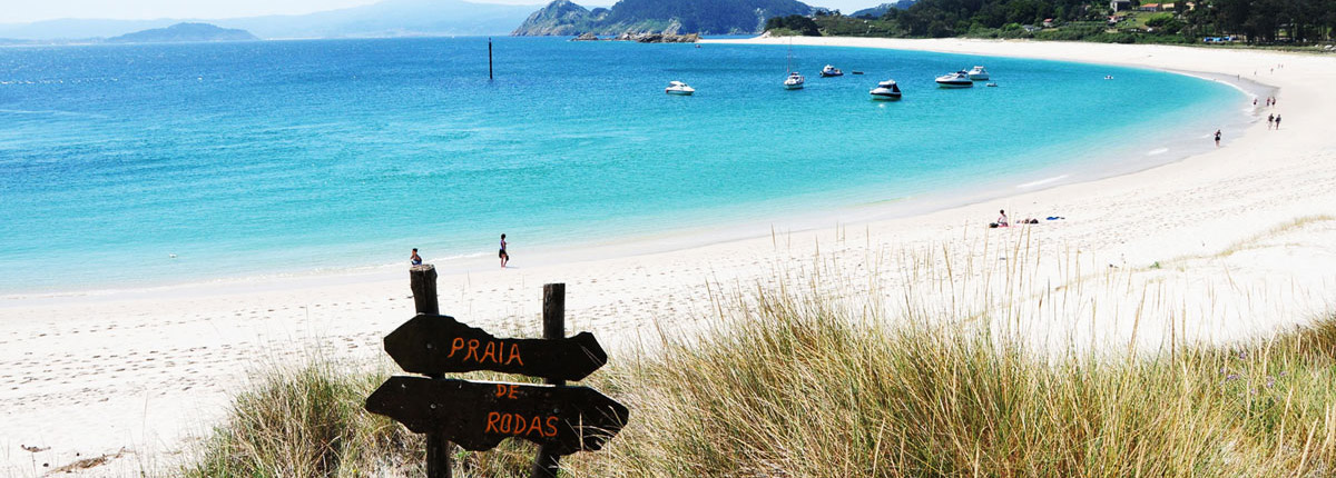Cies Islands, Rodas Beach
